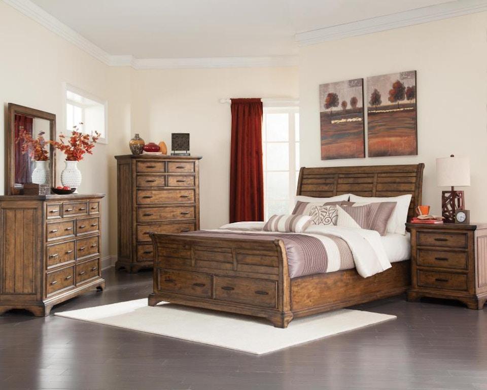 Coaster 5 Piece Queen Bedroom Set 203891q S5 Kensington Furniture