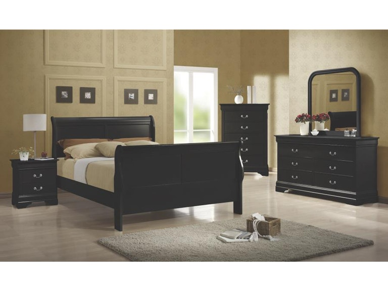 Coaster Youth 5 Piece Full Bedroom Set 203961F-S5 - Evans ...