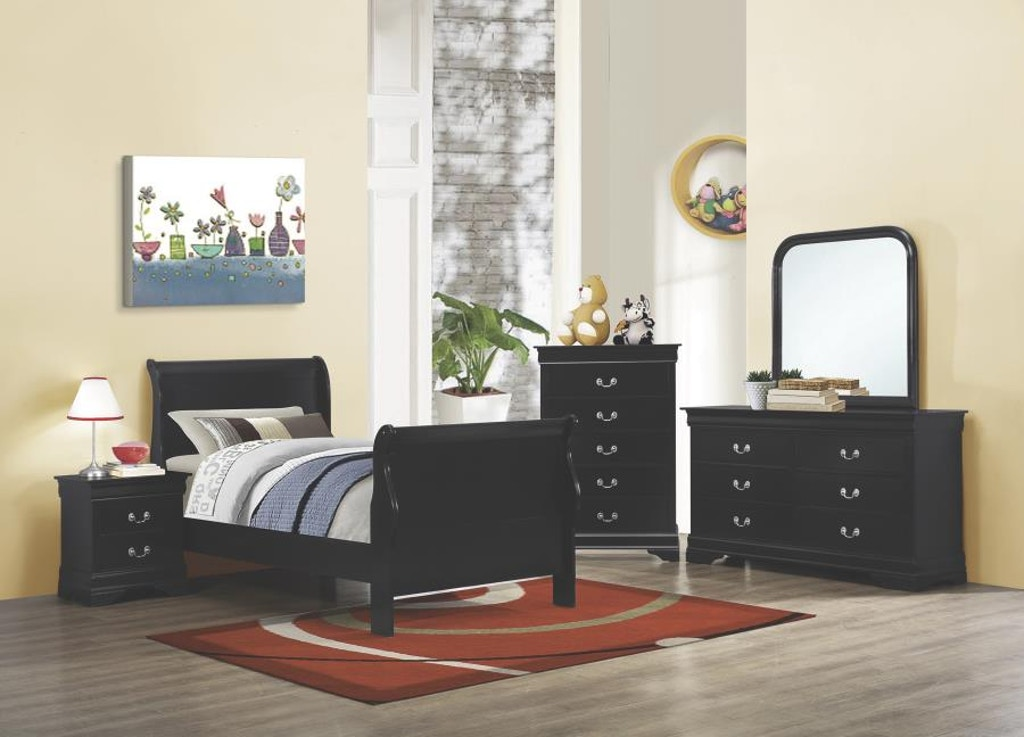 Coaster Youth 5 Piece Twin Bedroom Set 203961T-S5 - Evans ...