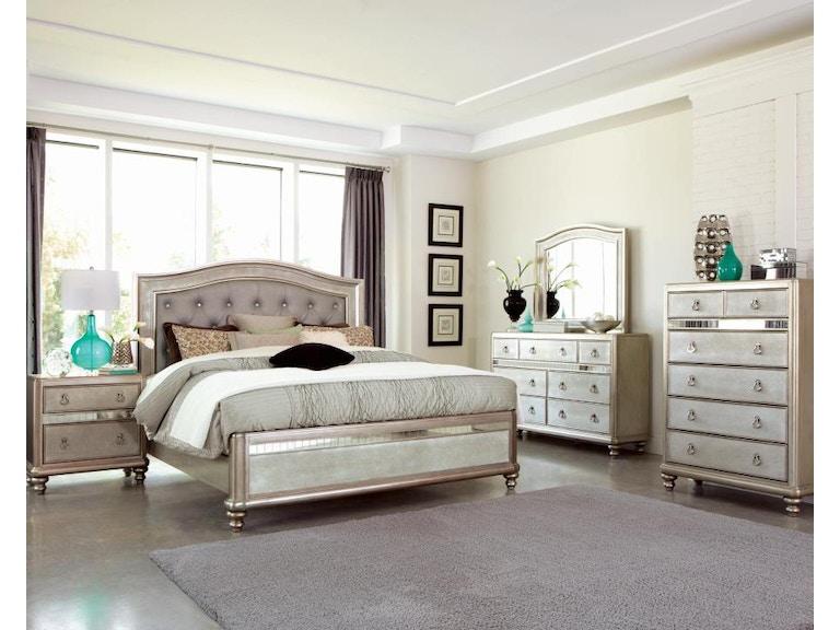 Coaster 5 Piece King Bedroom Set 204181ke S5