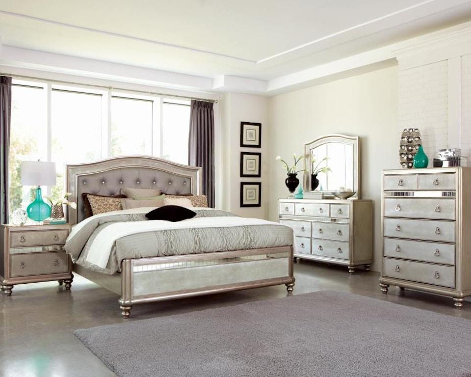 Coaster 4 Piece Queen Bedroom Set 204181Q-S4 - Capital ...