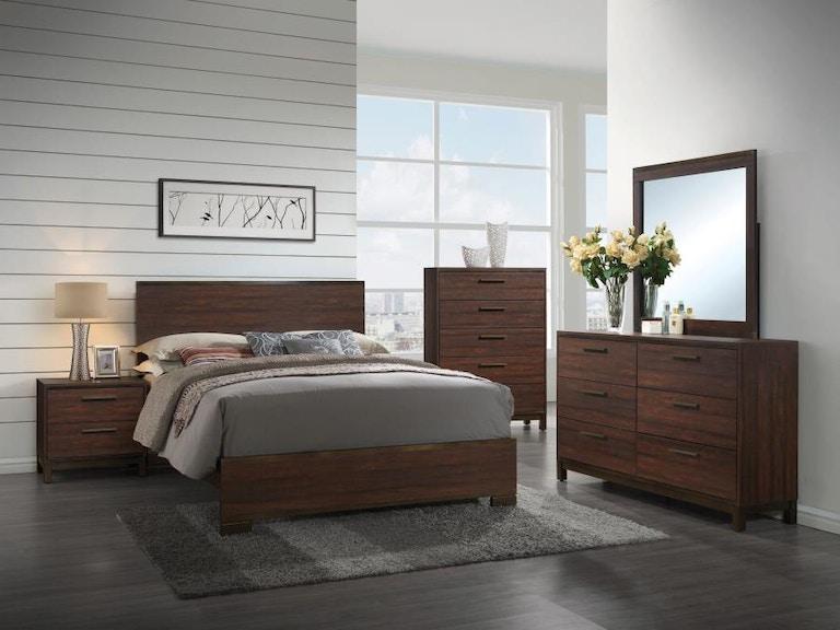 Coaster 5 Piece King Bedroom Set 204351KE-S5 - Turner Furniture ...