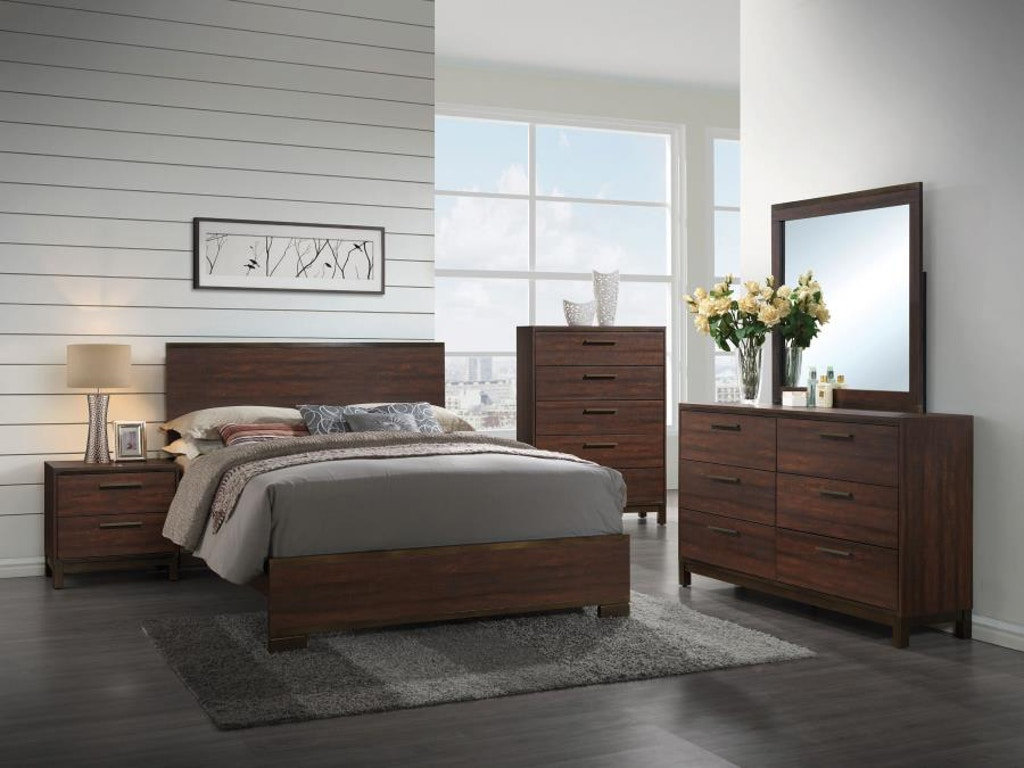 Outstanding Coaster 4 Piece Queen Bedroom Set 204351Q S4 Capital Download Free Architecture Designs Pendunizatbritishbridgeorg