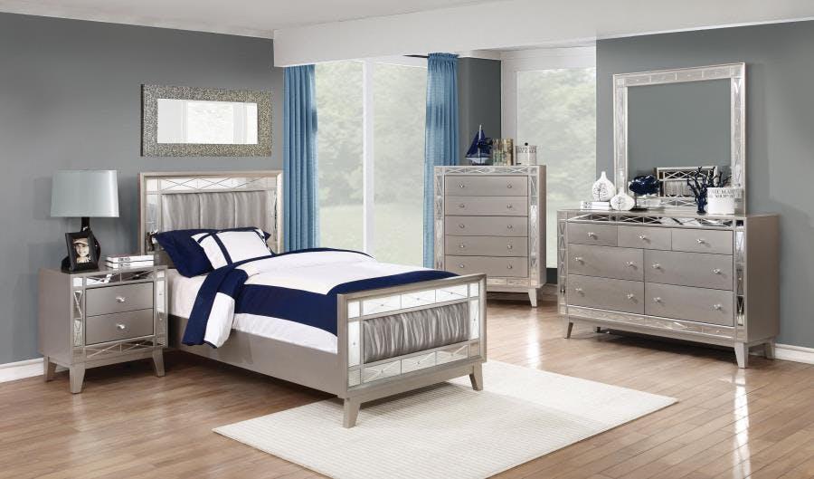 Coaster Youth 5 Piece Twin Bedroom Set 204921t S5 Valeri Furniture Appleton Wi