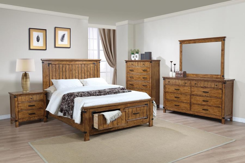 Coaster Youth 5 Piece Full Bedroom Set 205260F-S5 - Evans ...