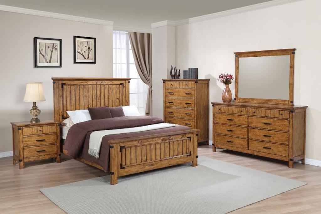 Coaster 5 Piece King Bedroom Set 205261KE-S5 - Budget ...