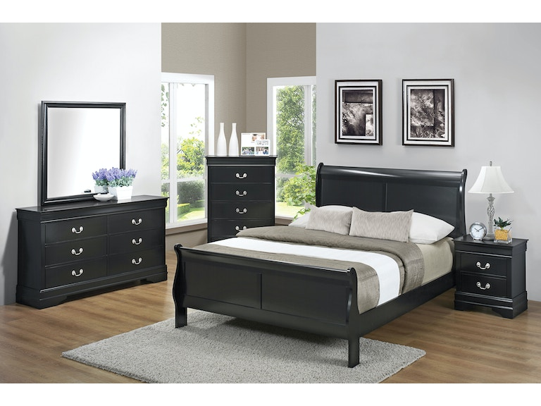Coaster 5 Piece Queen Bedroom Set 212411q S5 Stacy Furniture