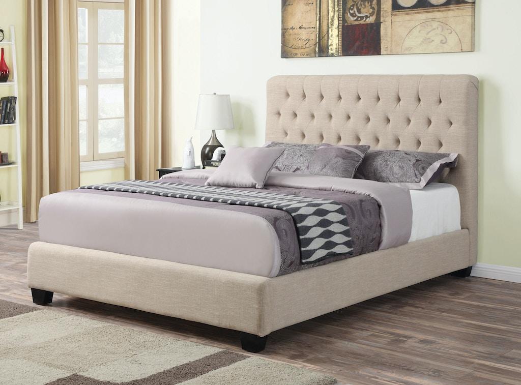 coaster bedroom queen bed 300007q fiore furniture company altoona pa. Black Bedroom Furniture Sets. Home Design Ideas
