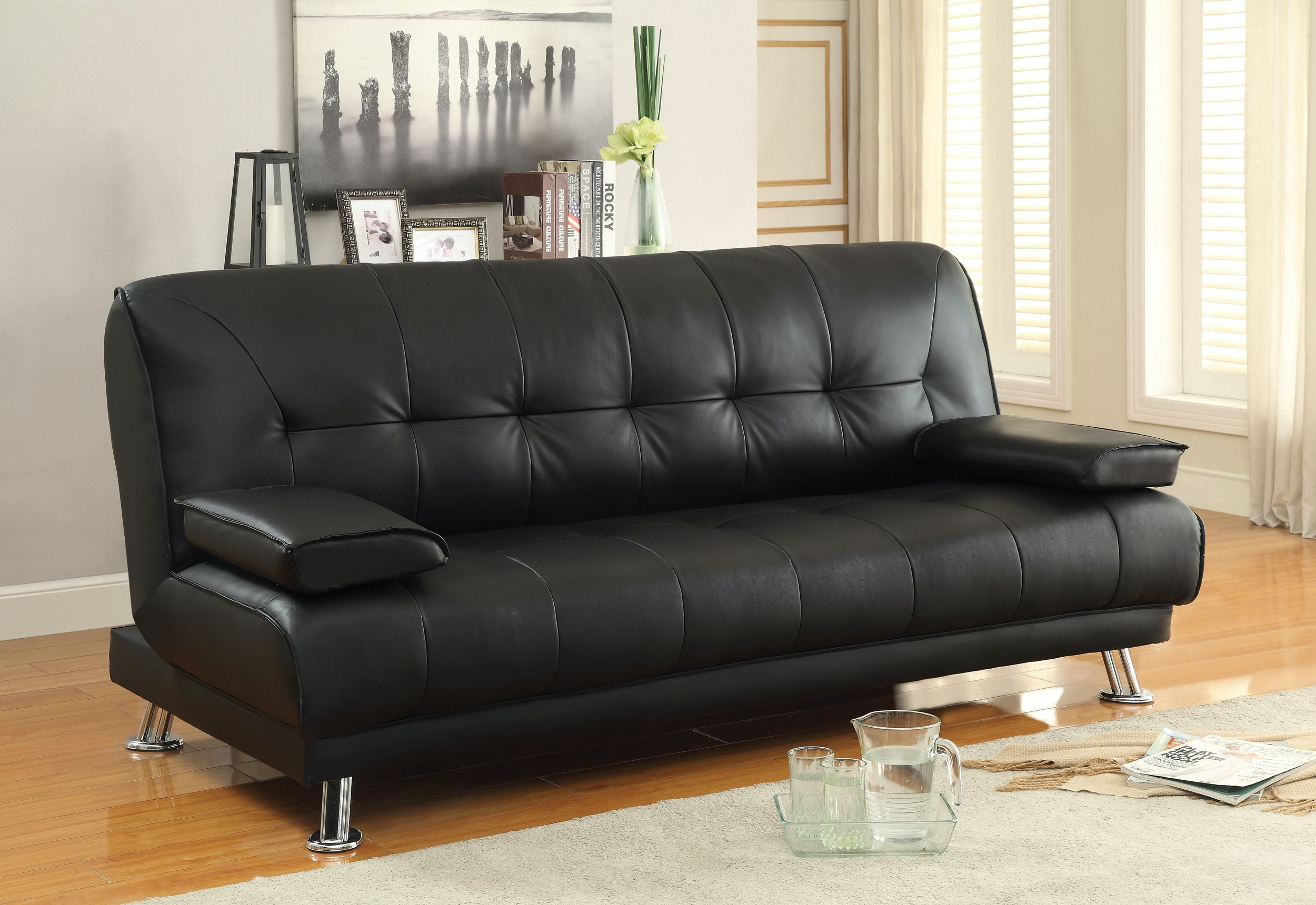 Coaster Living Room Sofa Bed The Furniture House
