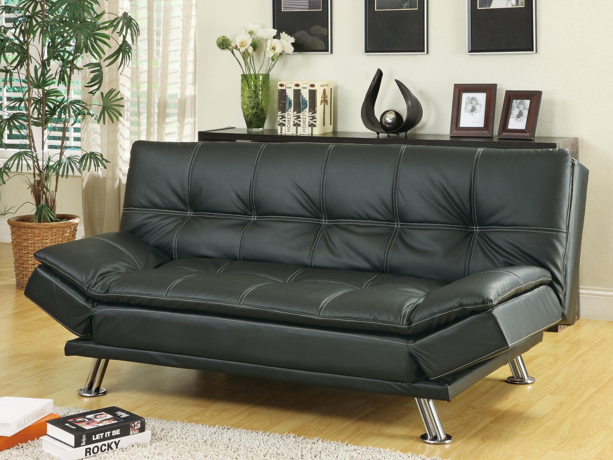 coaster living room sofa bed 300281 gallery furniture of central rh shopgalleryfurniture com