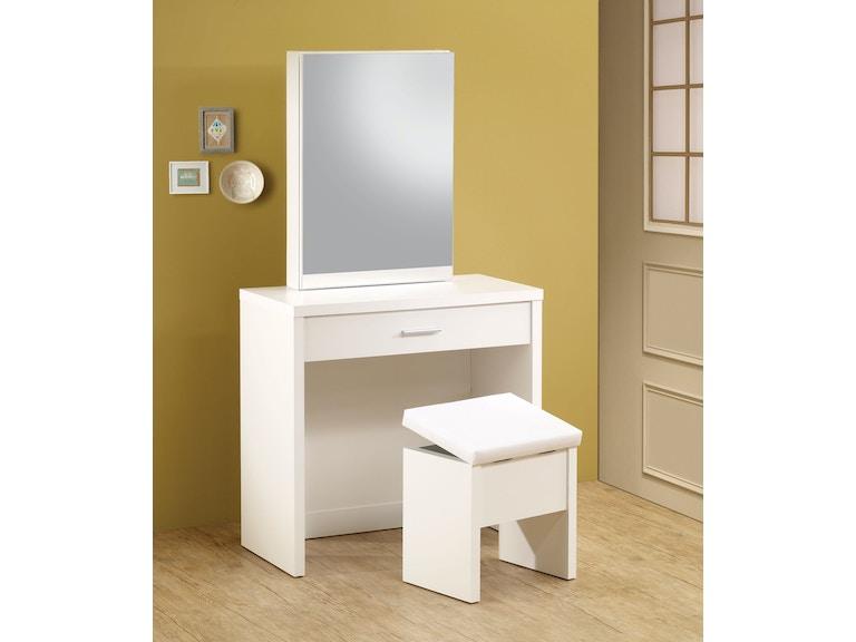 Coaster Bedroom Vanity 300290 Furniture Kingdom
