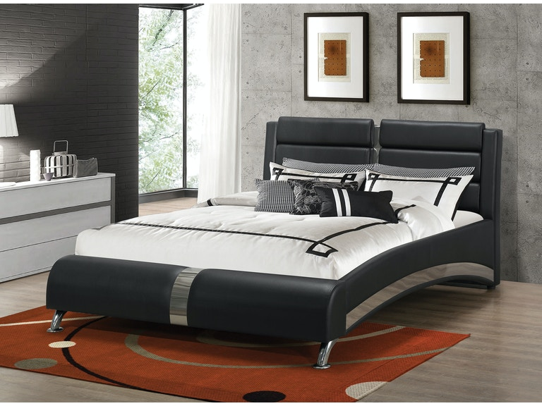 Coaster Upholstered Beds Modern Queen Jeremaine Bed 300350q