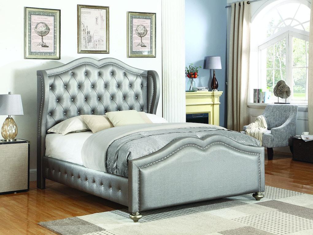 Coaster Bedroom Queen Bed 300824QB3 - Atlantic Bedding ...