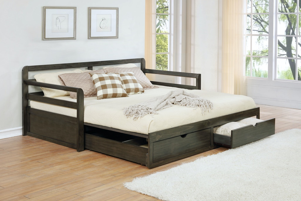 Coaster Bedroom Twin Xl Daybed With Trundle 305706 Turner Furniture Company Avon Park And