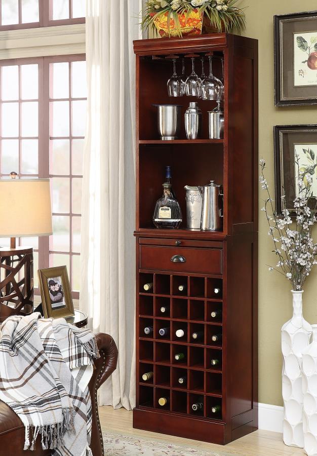 Coaster Lambert Wine Wall Bar Unit 3080 1