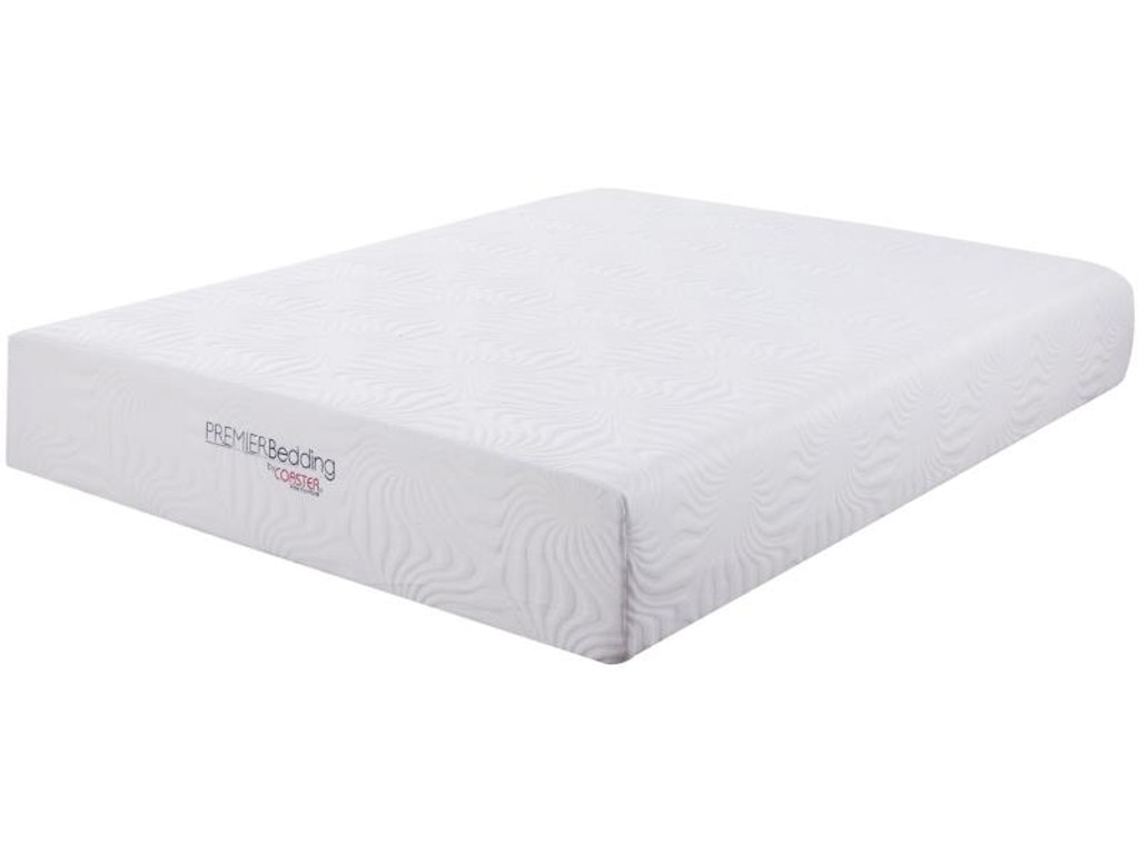 Coaster mattresses 12 queen memory foam mattress 350065q for Affordable furniture and mattress