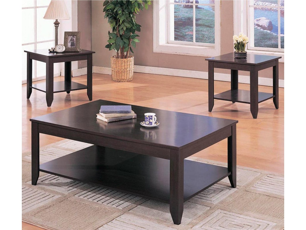 Coaster living room 3 pc set 700285 simply discount furniture santa clarita and valencia ca for Cheap 3 piece living room sets