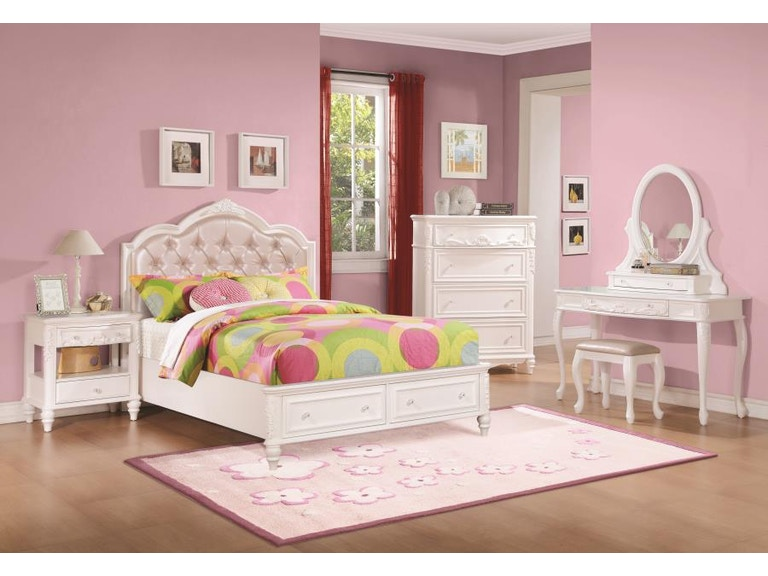 Coaster 5 Piece Twin Bedroom Set 400721t S5