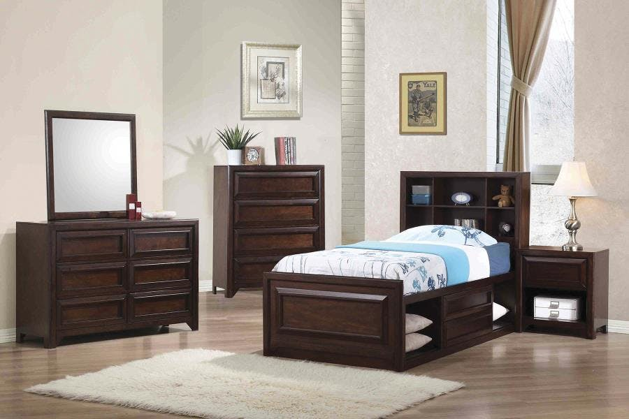 Coaster Youth 5 Piece Twin Bedroom Set 400820t S5 Turner Furniture Company Avon Park And