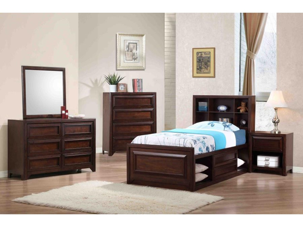 Coaster Youth 5 Piece Twin Bedroom Set 400820t S5