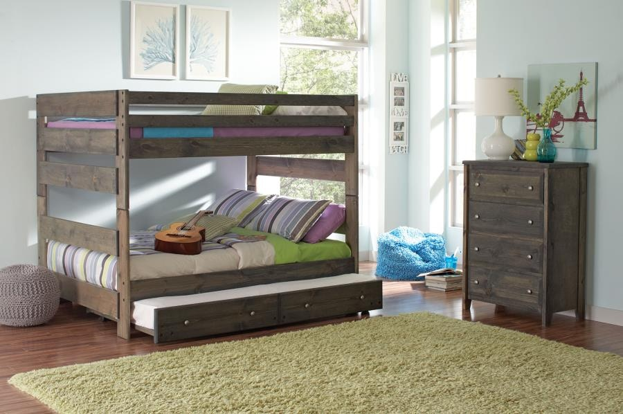 Coaster Youth Full Over Full Bunk Bed 400833 China Towne Furniture