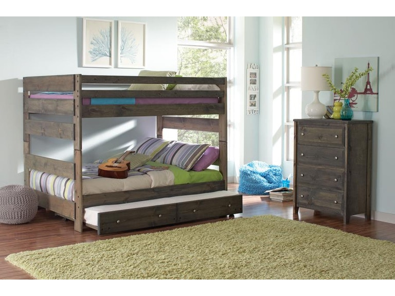 Coaster Youth Full Over Full Bunk Bed 400833 Gallery Furniture