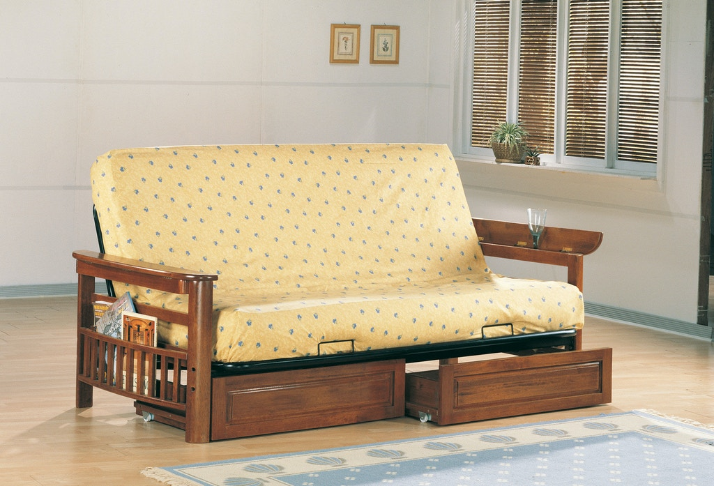 Coaster Living Room Futon Frame 4075