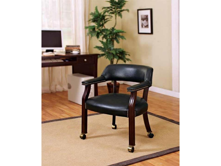 Coaster Home Office Guest Chair 415k Furniture Marketplace Greenville Sc