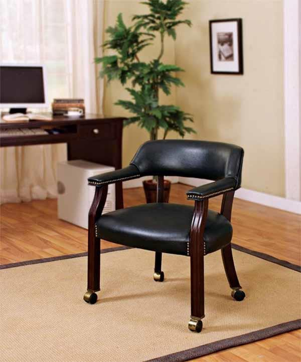 Coaster Home Office Guest Chair 415k Isaak S Home