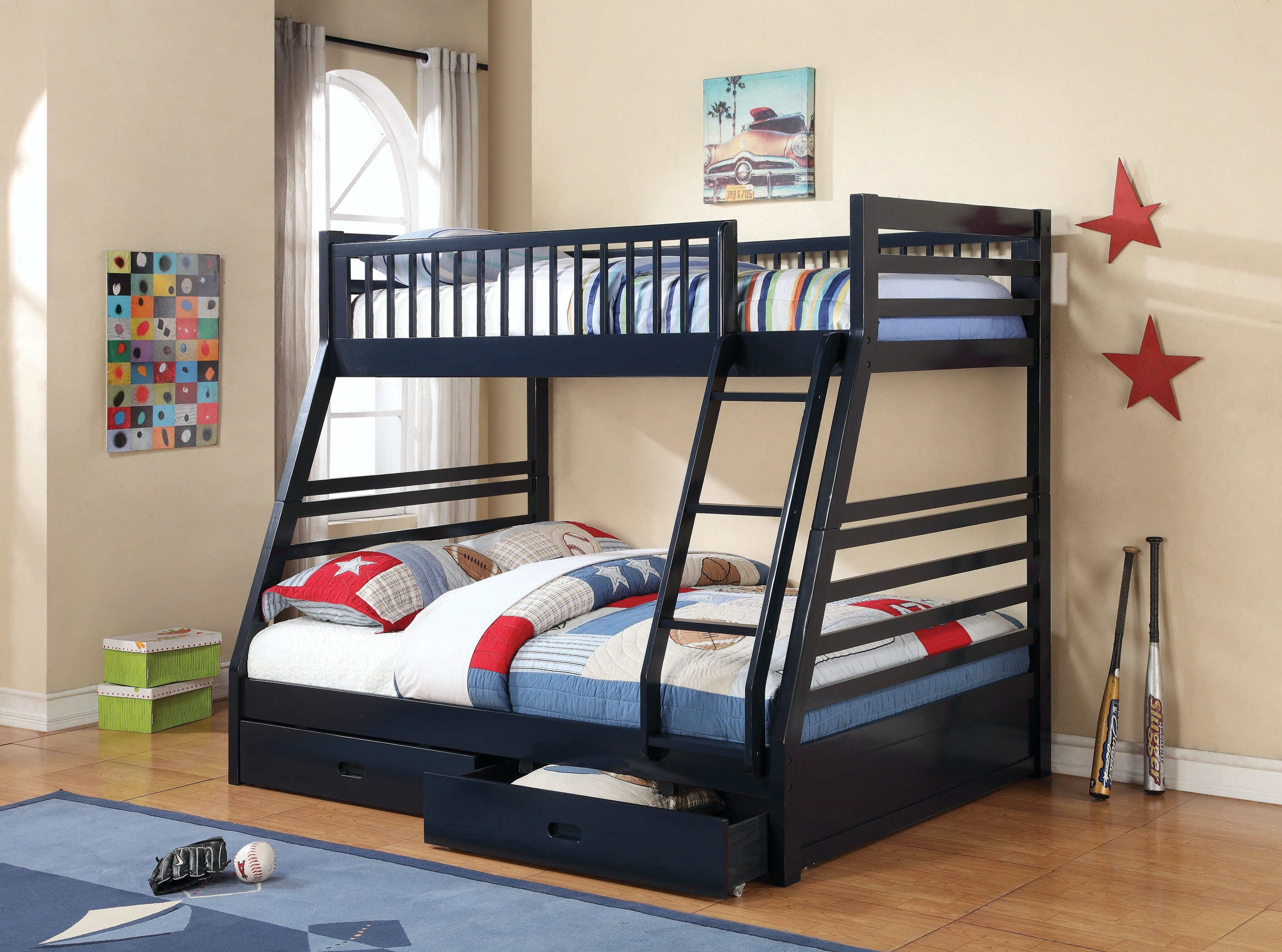 Coaster Youth Bunk Bed 460183 Simply Discount Furniture Santa