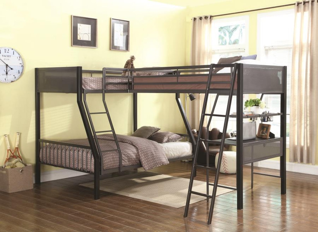 Coaster Youth Twin Over Full Bunk Bed 460391 The