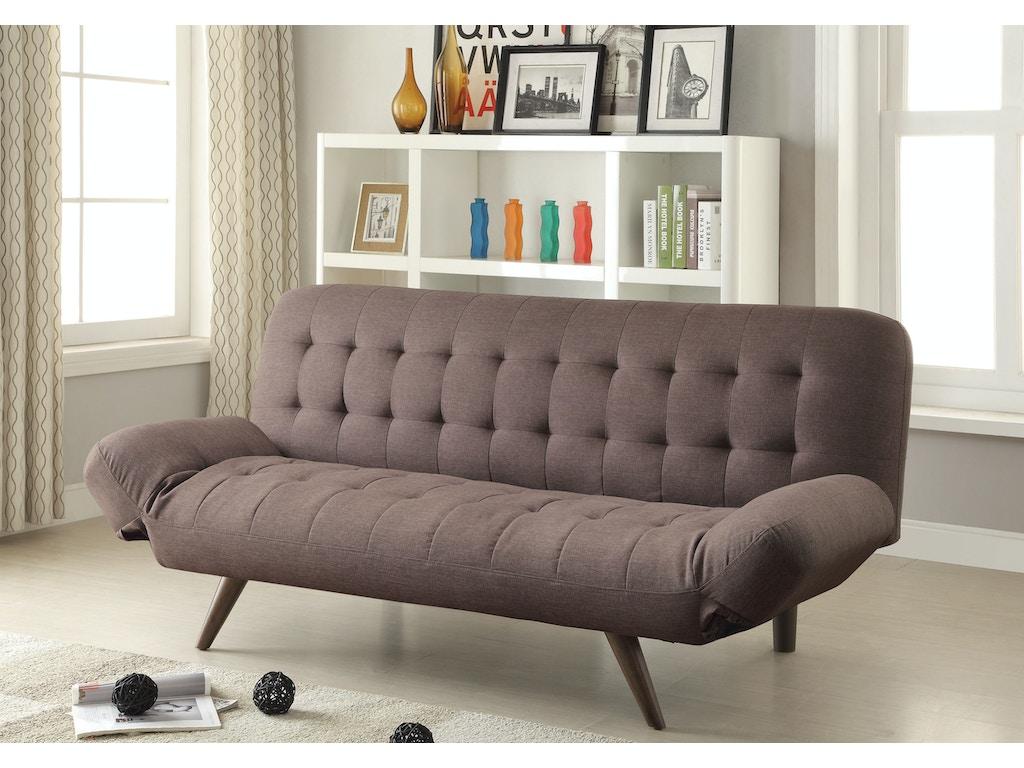 coaster living room sofa bed 500041 simply discount furniture santa clarita and valencia ca. Black Bedroom Furniture Sets. Home Design Ideas