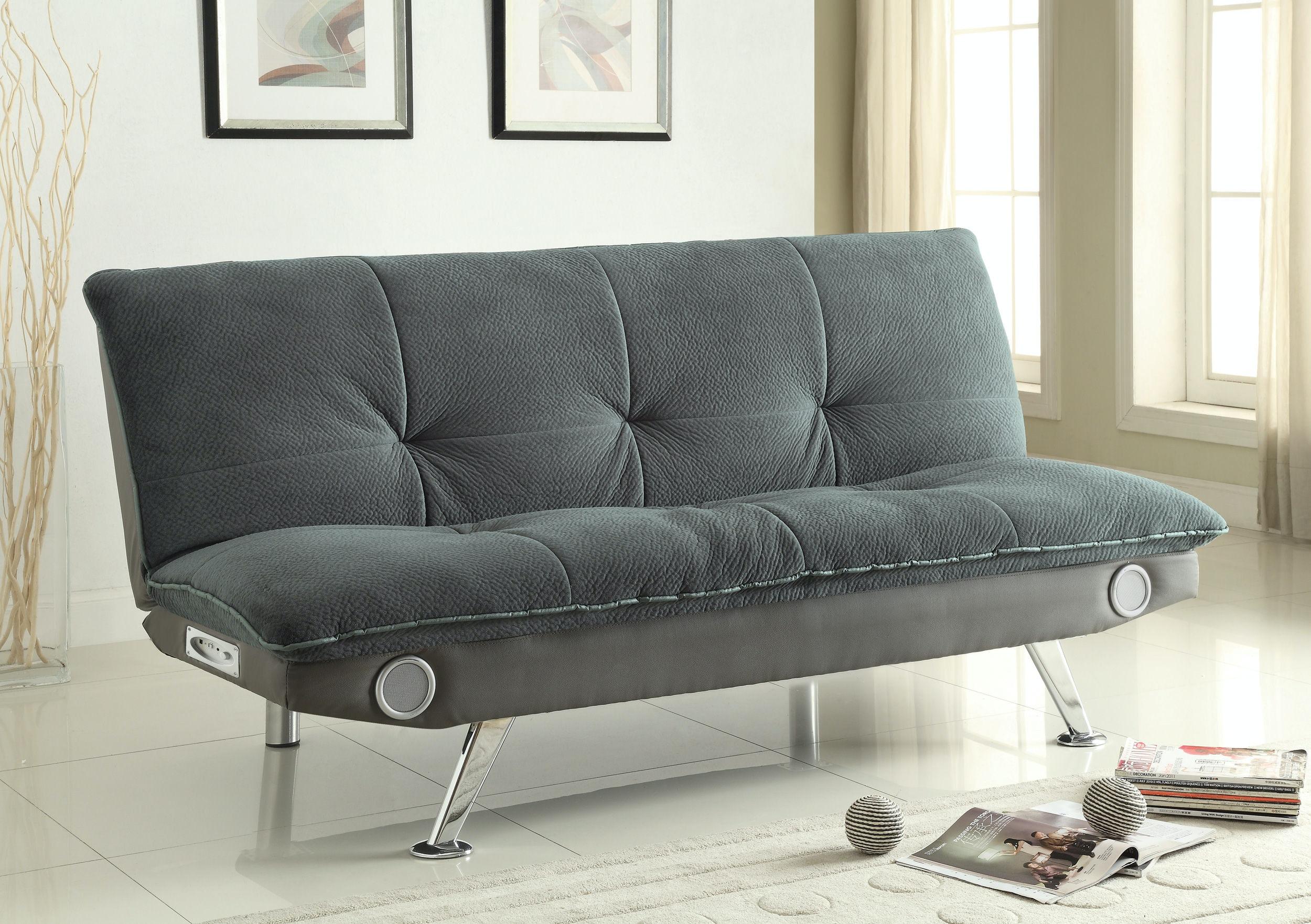 coaster living room sofa bed 500046 gallery furniture of central rh shopgalleryfurniture com