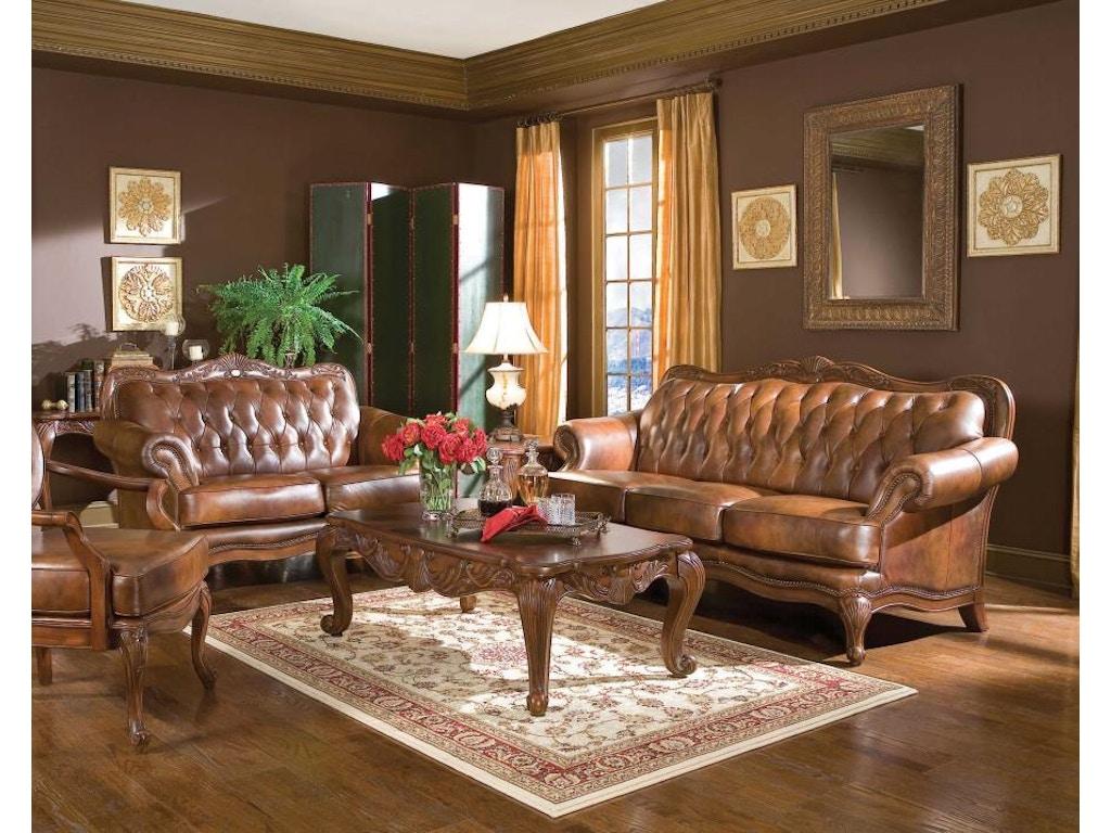 Coaster 2 Piece Living Room Set 500681 S2 Ridgemont
