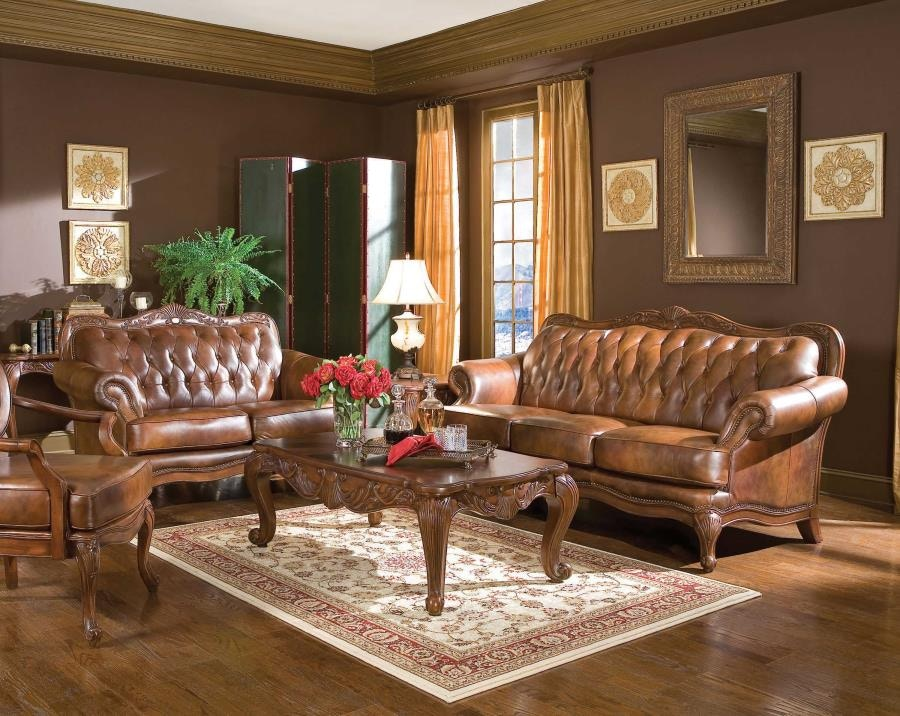 Ordinaire Coaster Living Room 2pc (Sofa Love) 500681 S2 At Gallery Furniture Of Central  Florida