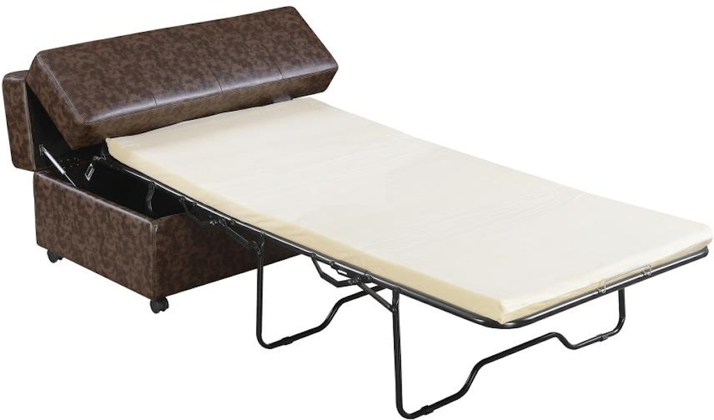 cameron paragon cot ottoman lazar sofas sh industries is product leather sleeper by