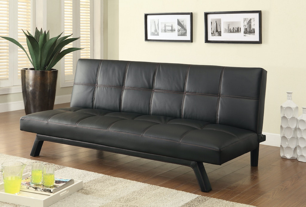 Coaster living room sofa bed fulton stores brooklyn ny for Living room west 6 brooklyn