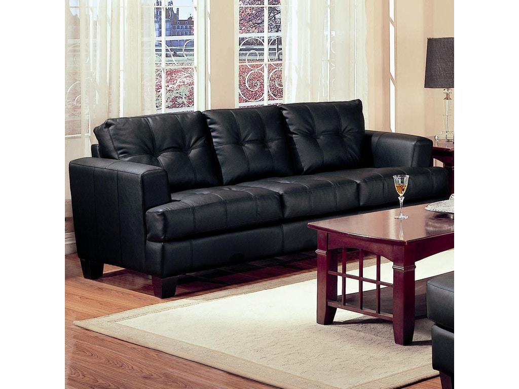 Coaster living room sofa 501681 simply discount for Living room discount furniture