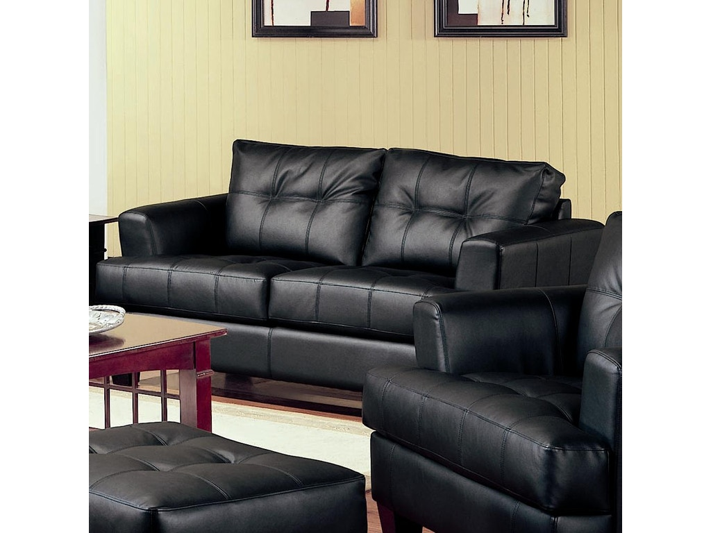 Coaster Living Room Loveseat 501682 The Furniture House Of Carrollton Carrollton Newnan