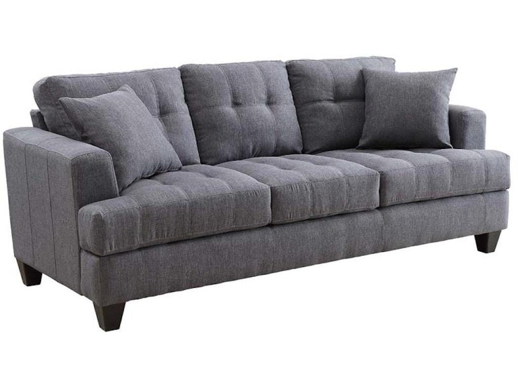 Coaster Living Room Sofa 505175 Furniture Kingdom Gainesville Fl