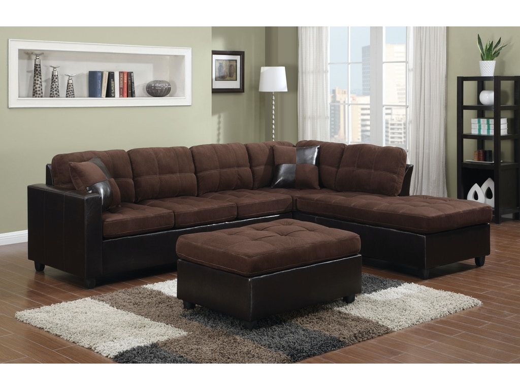 Coaster living room sectional 505655 the furniture mall for Sectional sofas duluth mn