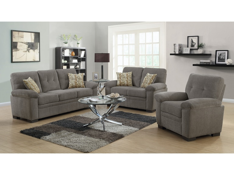 Coaster 3 Piece Living Room Set 506581 S3