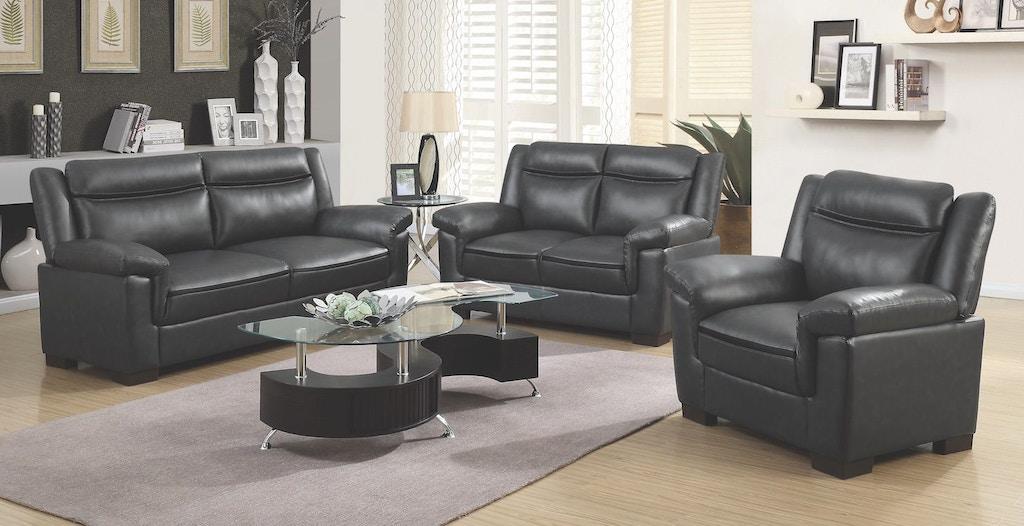 Coaster 3 Piece Living Room Set 506591-S3 - Kensington Furniture and ...
