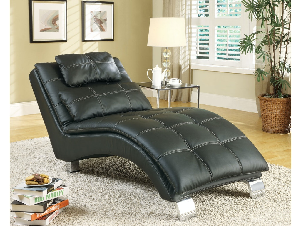 Coaster Living Room Chaise 550075 Charter Furniture Dallas Fort Worth Tx