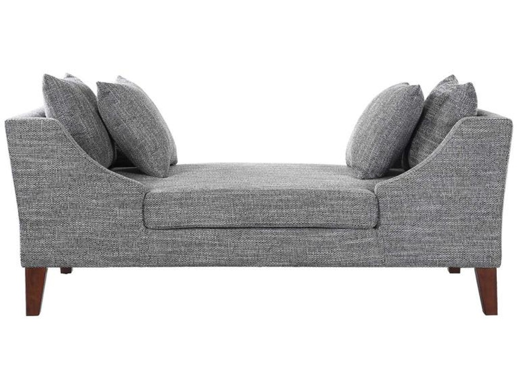 Coaster living room chaise 550117 simply discount for Chaise promotion