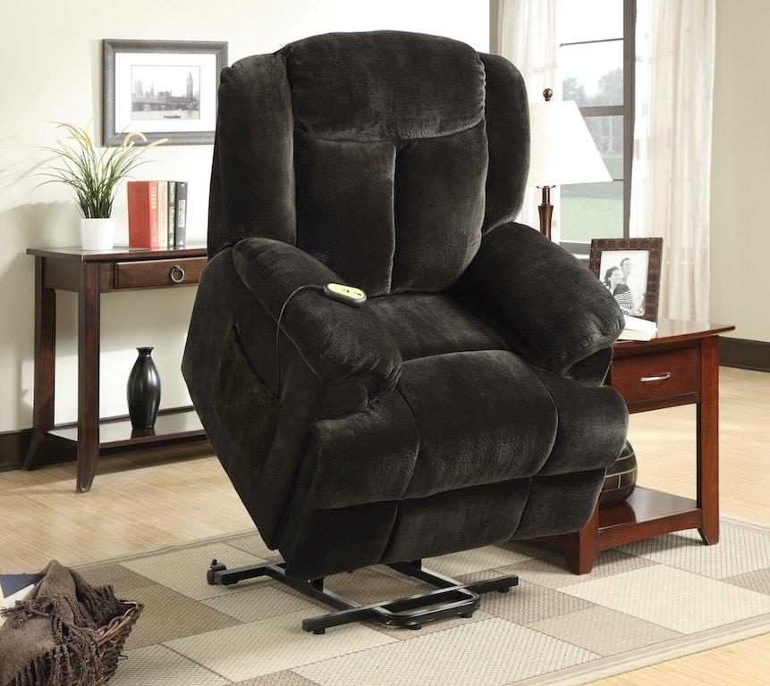 Coaster Living Room Power Lift Recliner 600173 Evans