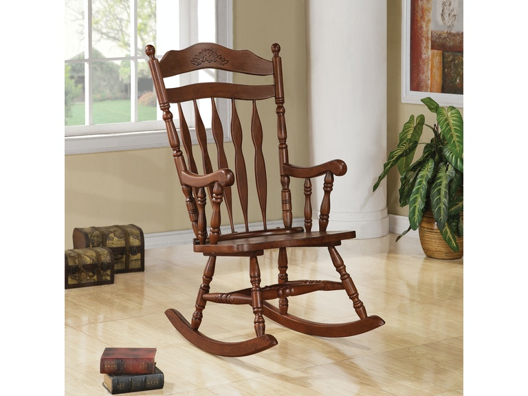 coaster living room rocking chair 600187 the furniture house of
