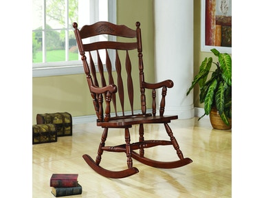 Incredible Coaster Living Room Rocking Chair 600187Ii Ridgemont Gmtry Best Dining Table And Chair Ideas Images Gmtryco