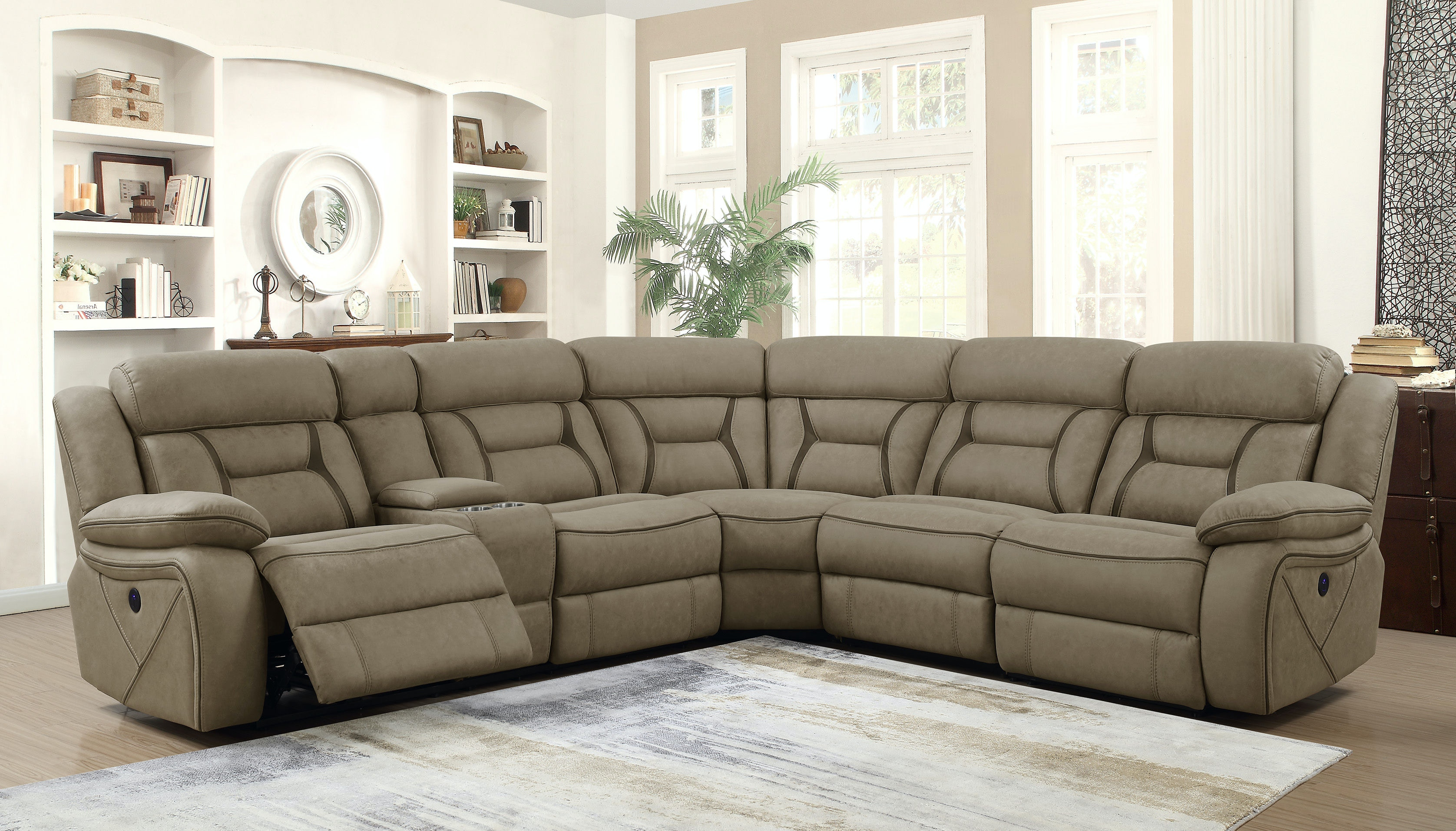 Coaster Sectional 600380