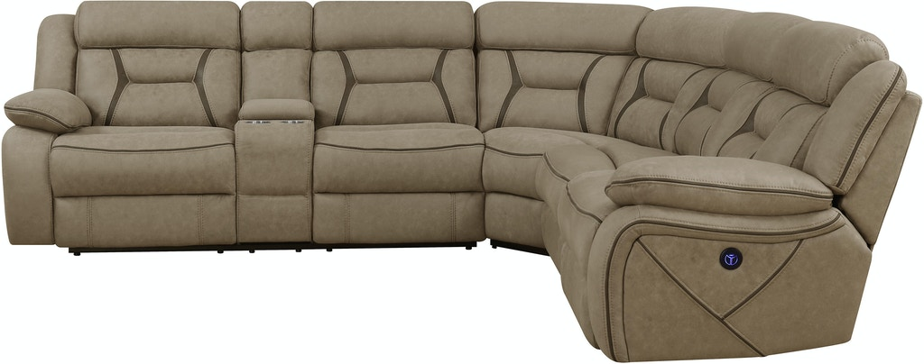 Coaster Living Room 4 Piece Sectional 600380 Rider